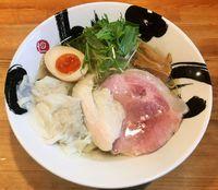 【限定】銀いりこと大山鶏の塩そば1000円
