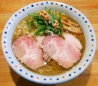 【限定】焼き鯵煮干の塩そば