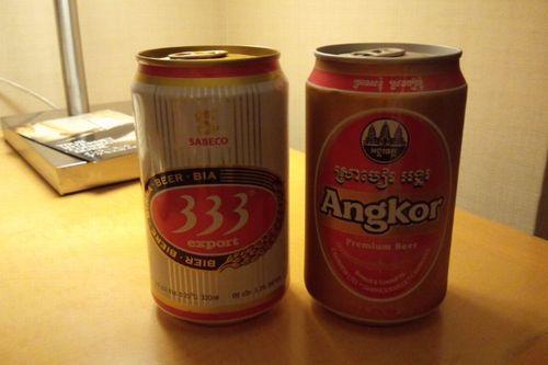 333ビールとアンコールビール