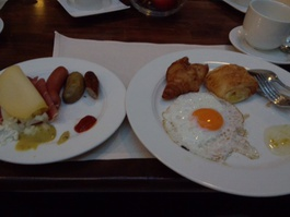 インターコンチネンタル フランクフルト 朝食
