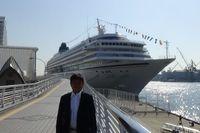 飛鳥Ⅱ 神戸寄港 船内レポート