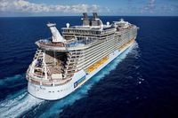 ロイヤルカリビアン 22万トン オアシスクラス 2船建造開始