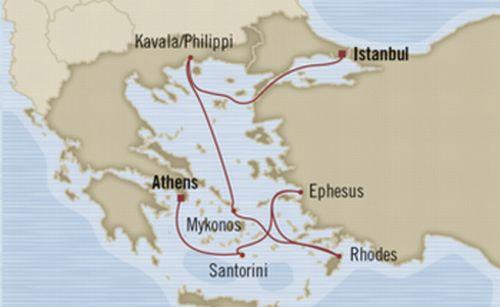 オーシャニア エーゲ海コース