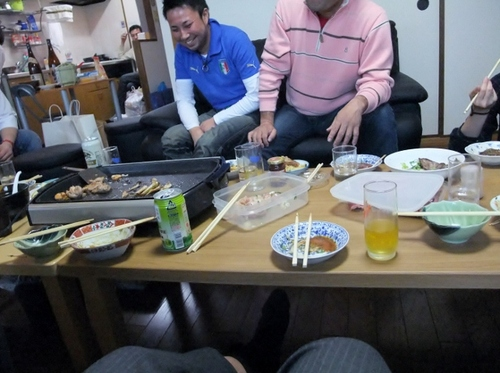 摂津駅でゴージャス宴会