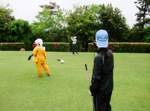 大雨と戦う第2ゴルフ編