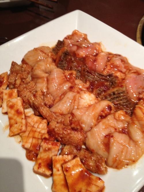 ポッサムチプ焼肉